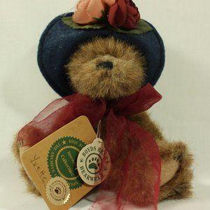 Boyds Bears Yvette Dubeary Plush Bear All Tags